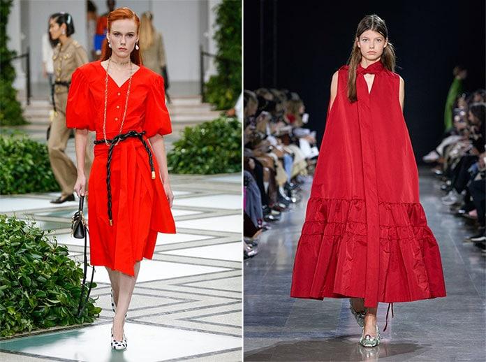 Κόκκινα χρώματα σε αποχρώσεις Fiery Red και Flame Scarlet