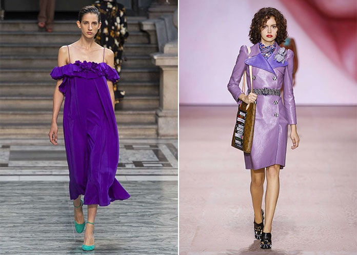 Μωβ αποχρώσεις του σταφυλιού (Grape Compote) και της λεβάντας (Lovely Lavender)