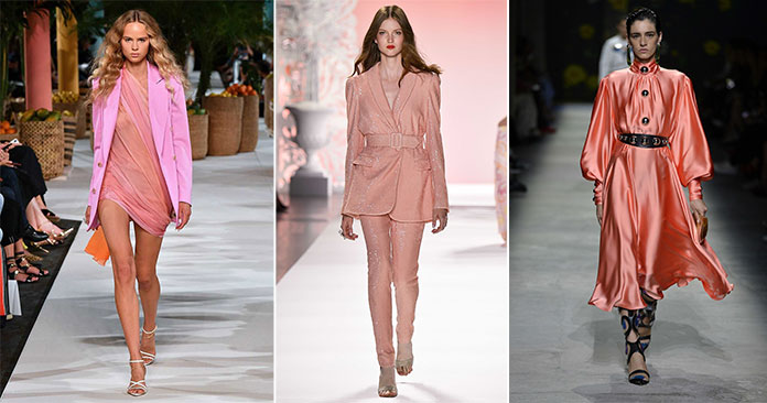 Ροζ χρώματα όπως Blossom, Coral Pink και Blush Beauty