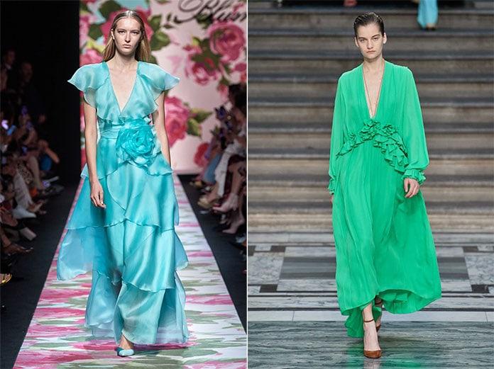 Γαλαζοπράσινες αποχρώσεις όπως Tanager Turquoise και Biscay Green