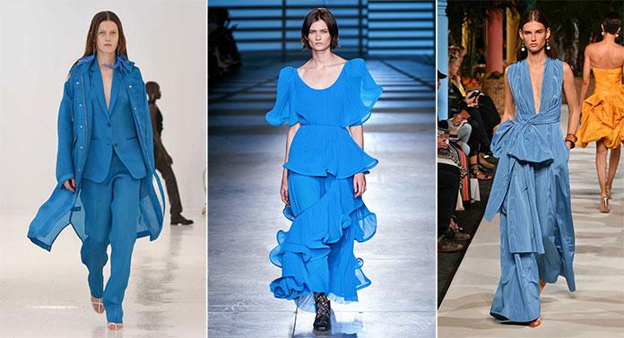 Γαλάζιοι τόνοι όπως Mosaic Blue, Heritage Blue και Faded Denim