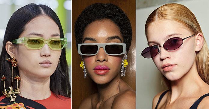 Μακρόστενα γυαλιά ηλίου σε οβάλ και άλλα σχήματα