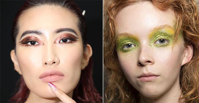 Glitter στα μάτια για την Άνοιξη / Καλοκαίρι 2020