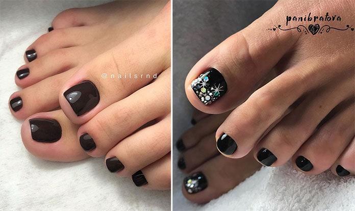 Μαύρα νύχια ποδιών