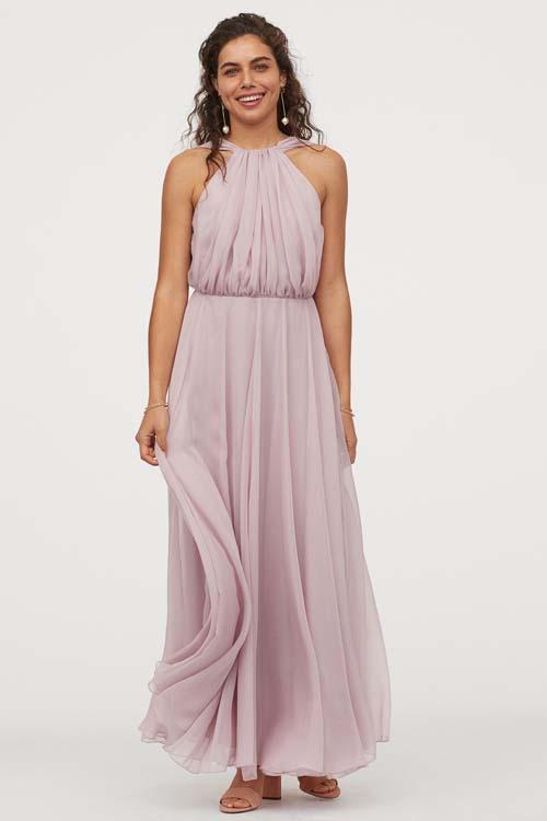 Σιφόν μάξι αέρινο καλοκαιρινό φόρεμα - H&M