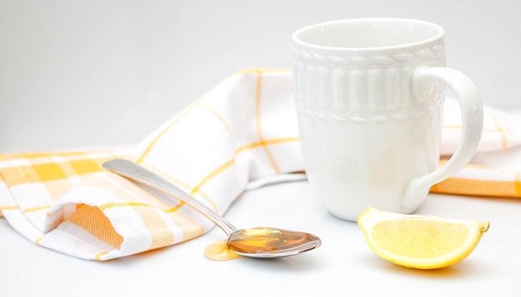 Μαγειρική σόδα, μέλι και λεμόνι