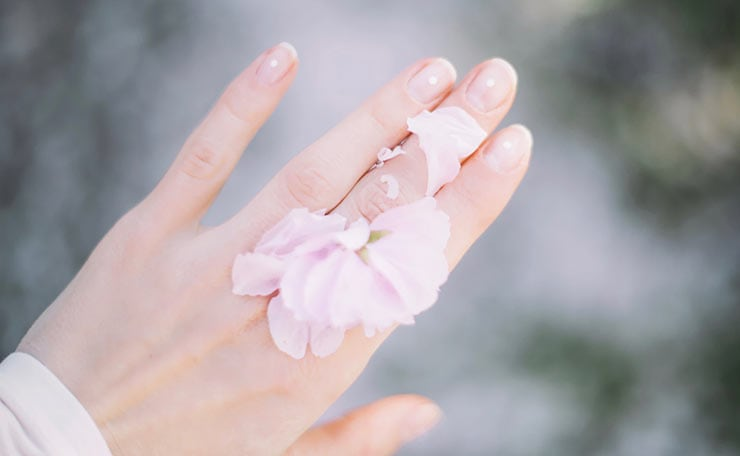 Νύχια για γάμο