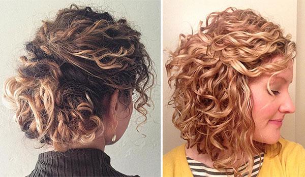 Κοντά μαλλιά με πιάσιμο μισά πάνω μισά κάτω