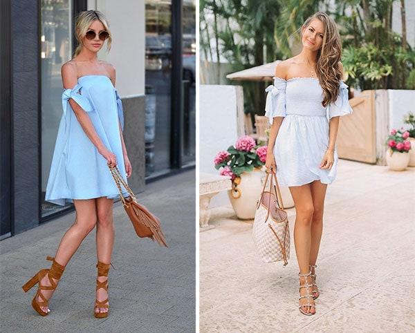 Κοντό φόρεμα για τις διακοπές