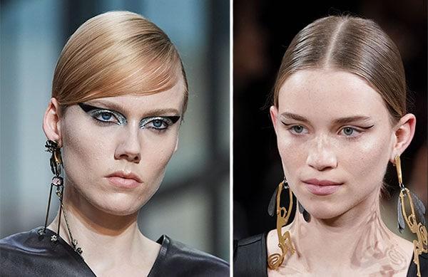 Γραμμή eyeliner στην πτυχή του ματιού ή καλλιτεχνικές δημιουργίες με eyeliner