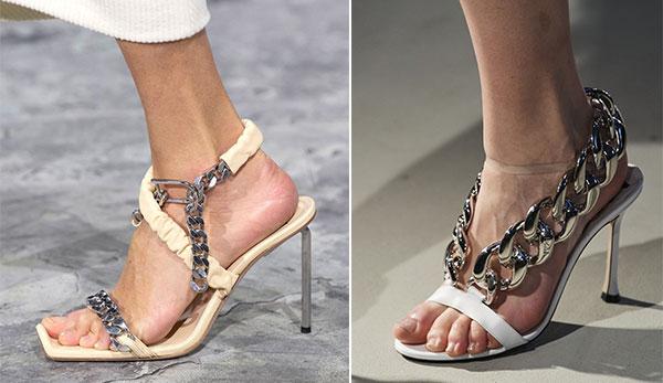 Αλυσίδες στα παπούτσια