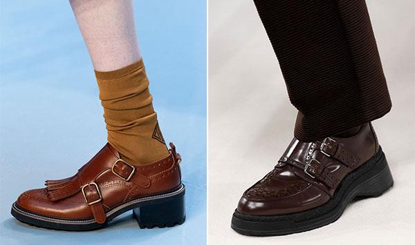 Ανδρικού στυλ παπούτσια