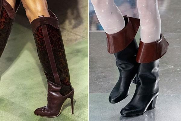 Μπότες ιππασίας μέχρι το γόνατο