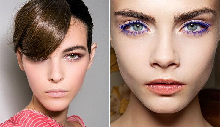 Χρωματιστή μάσκαρα και στο φθινοπωρινό μακιγιάζ