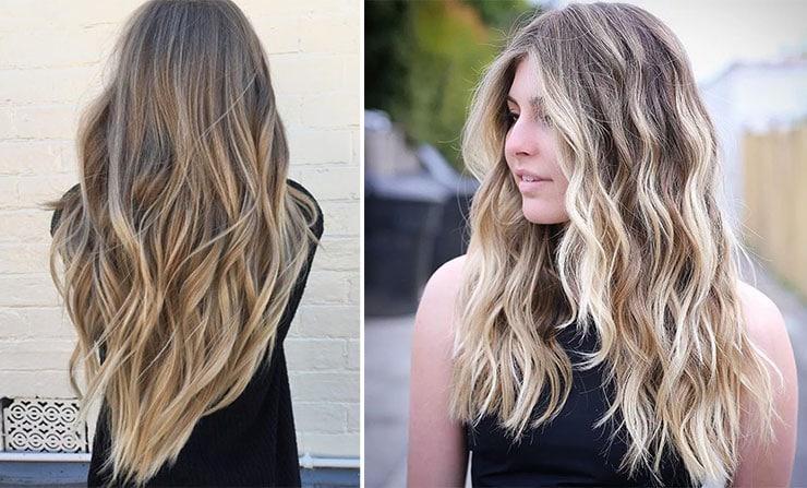 Ιδέες για μακριά σπαστά μαλλιά