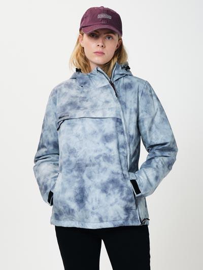 Αδιάβροχο και αντιανεμικό cross zip hooded jacket - Emerson