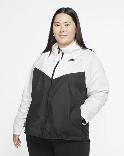 Αντιανεμικό γυναικείο μπουφάν σε μεγάλα μεγέθη - Nike