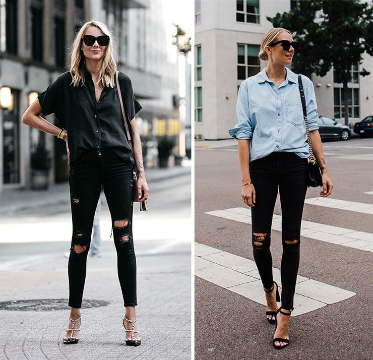 Πως να συνδυάσετε το μαύρο jean σας