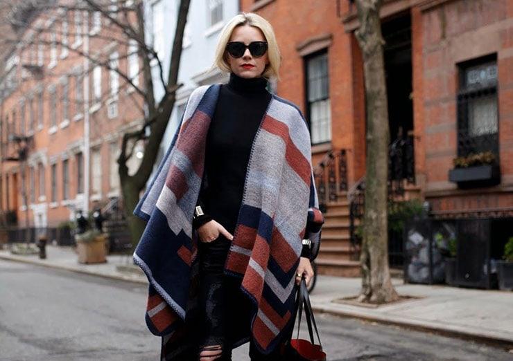 Στυλάτα και ζεστά blankets ή ponchos