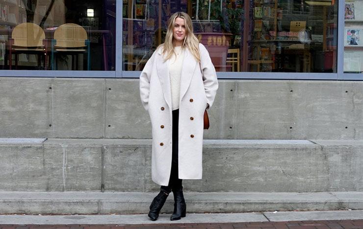 Oversized και φουσκωτά με όγκο παλτό