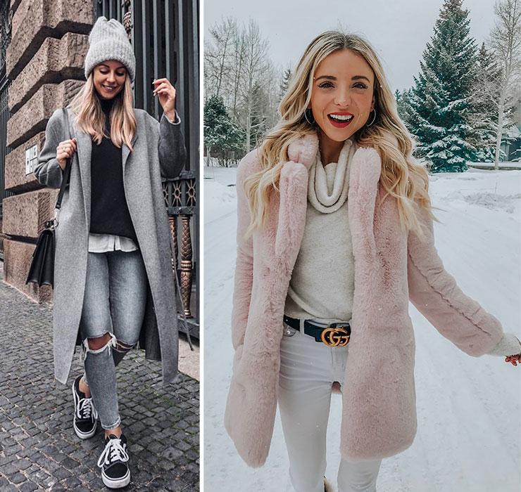 Ντύσιμο με πουλόβερ για το Χειμώνα